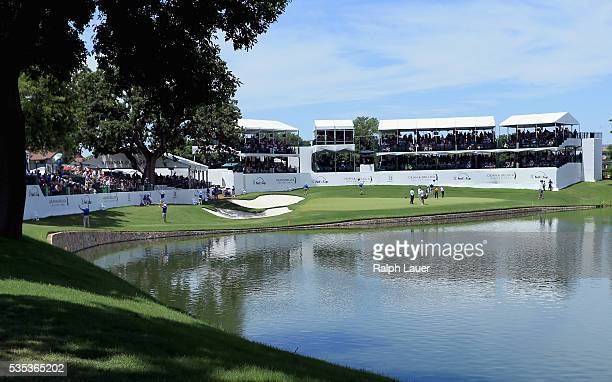 General view of the 13th hole during the DEAN & DELUCA Invitational at Colonial Country Club on May 29, 2016 in Fort Worth, Texas.