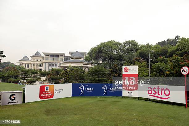 General view of the 13th tee box during day three of the Sime Darby LPGA at Kuala Lumpur Golf Country Club on October 11 2014 in Kuala Lumpur Malaysia