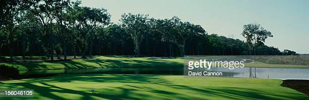 General view of the 14th hole at the Frederica Golf Club on October 20, 2005 in St. Simons Island, Georgia.