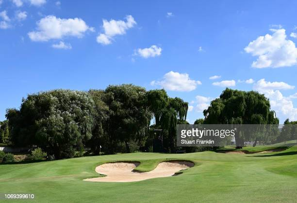 General view of the 14th hole during the second round of South African Open at Randpark Golf Club on December 7, 2018 in Johannesburg, South Africa.