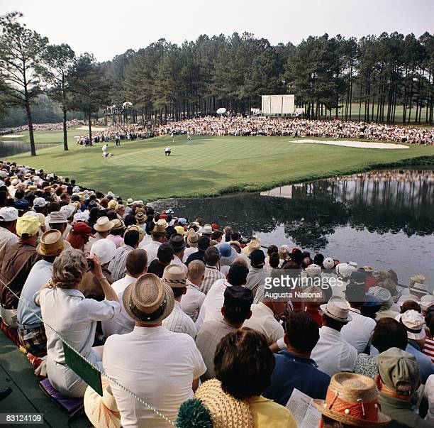 General View Of The 15th Hole During The 1965 Masters Tournament