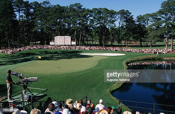 General View Of The 15th Hole During The 1998 Masters Tournament