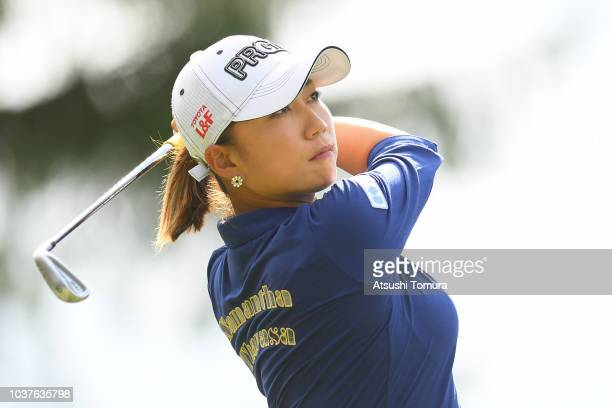 General view of the 15th hole during the second round of the Miyagi TV Cup Dunlop Ladies Open at Rifu Golf Club on September 22 2018 in Rifu Miyagi...