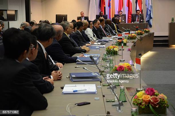 General view of the 169th meeting of the Organisation of Petroleum Exporting Countries in Vienna Austria on June 02 2016