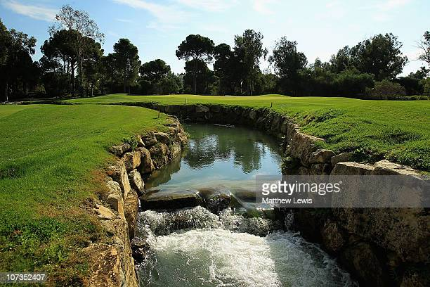 A general view of the 16th green during the PGA International ProCaptain Challenge 2010 Grand Final at PGA Sultan Course Antalya Golf Club on...