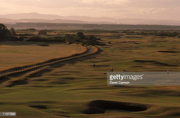 General view of the 16th hole on the Old Course at St Andrews in Fife Scotland Mandatory Credit David Cannon /Allsport