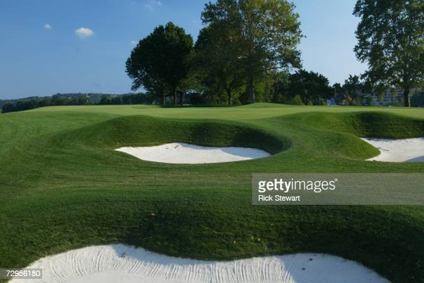 General view of the 17th hole at Oakmont Country Club, site of the 2007 US Open on September 26, 2006 in Oakmont, Pensylvania.