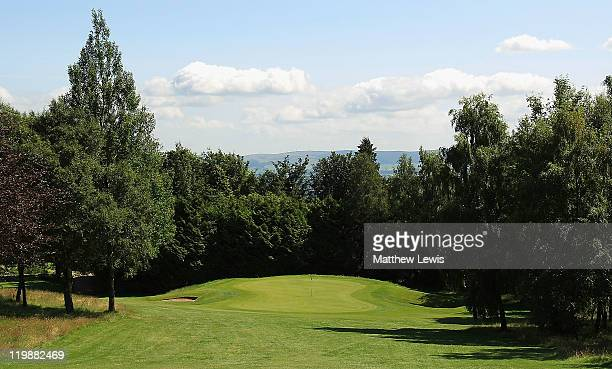 General view of the 17th hole during the Virgin Atlantic PGA National Pro-Am Championship Regional Final at Crieff Golf Club on July 26, 2011 in...