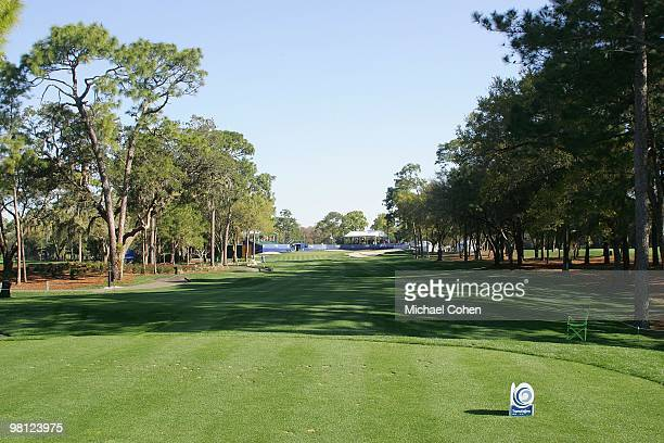 A general view of the 17th tee box at Innisbrook Resort and Golf Club on March 20 2010 in Palm Harbor Florida