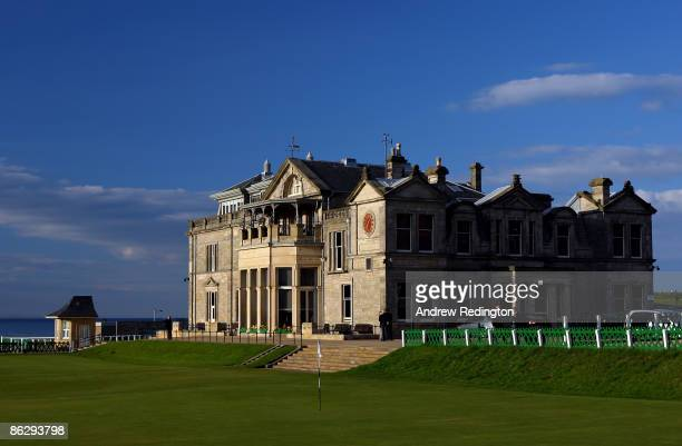 General view of the 18th green and the R & A clubhouse during Working For Golf 2009 at The Eighth R & A International Golf Conference on April 29,...