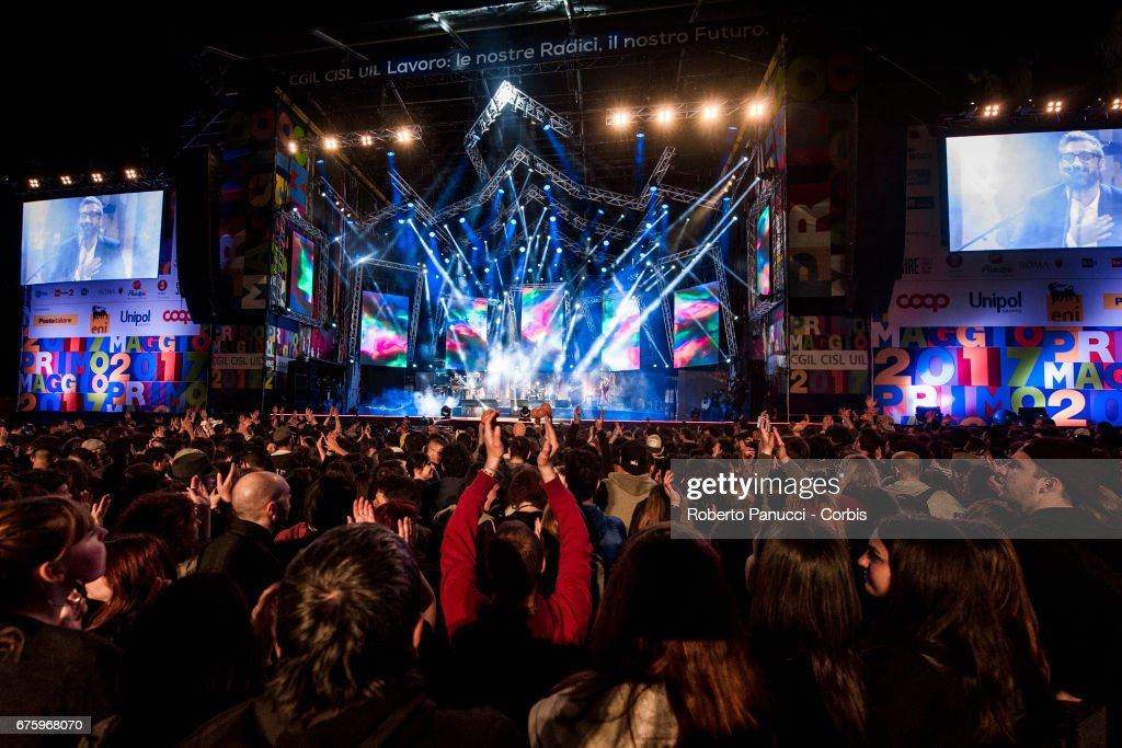 1st Of May Concert In Rome : News Photo