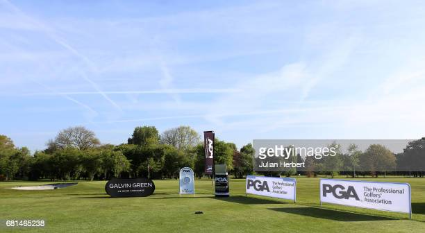 A general view of the 1st tee during the PGA Assistants Championship South West Qualifier at Bristol and Clifton Golf Club on May 10 2017 in Bristol...
