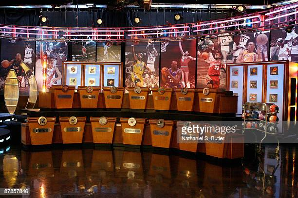 A general view of the 2009 NBA Draft Lottery at the Studios at NBA Entertainment May 19 2009 in Secaucus New Jersey NOTE TO USER User expressly...