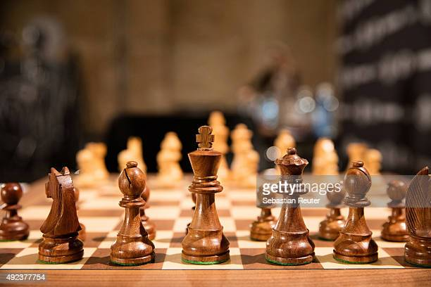 A general view of the 2015 World Chess Rapid and Blitz Championship in Berlin on October 12 2015 in Berlin Germany