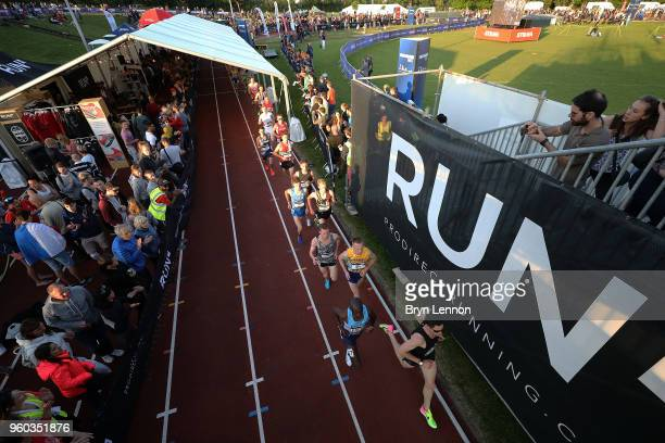 A general view of the 2018 European 10000m Cup at Parliament Hill Athletics Track on May 19 2018 in London England
