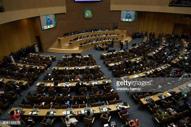 General view of the 29th African Union Summit in Addis Ababa Ethiopia on July 3 2017
