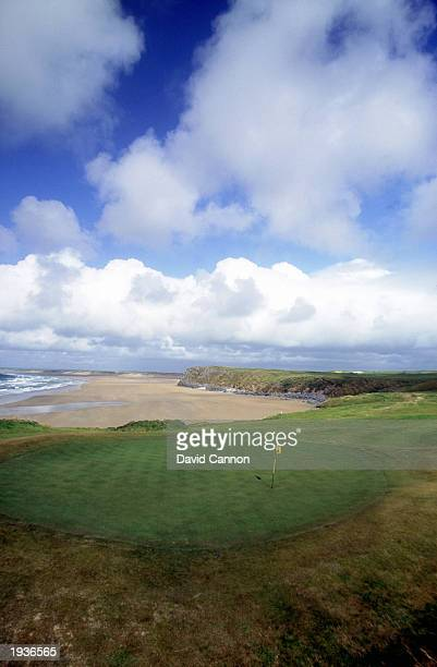 General view of the 2nd hole at theTralee golf course on May 1, 2000 at the Tralee Golf Club in Tralee, Ireland.