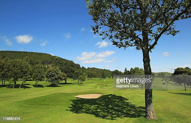 A general view of the 2nd hole during the Virgin Atlantic PGA National ProAm Championship Regional Final at Crieff Golf Club on July 26 2011 in...