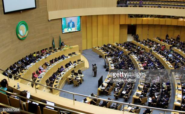 General view of the 30th African Union Summit in Addis Ababa Ethiopia on January 25 2018