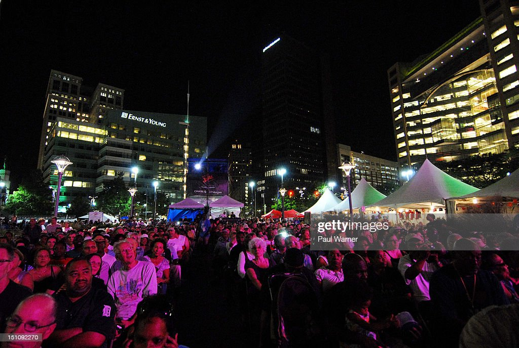 General view of the 33rd Annual Detroit Jazz Festival on August 31, 2012 in Detroit, Michigan.