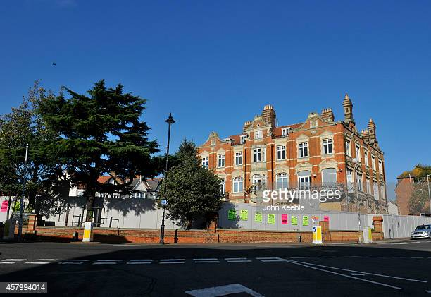 A general view of the £43million hotel owned by Sugar Hut boss and The Only Way Is Essex star Mick Norcross on January 28 2014 in LeighonSea England