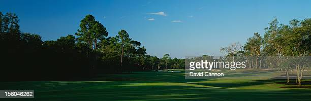 General view of the 4th hole at the Frederica Golf Club on October 20, 2005 in St. Simons Island, Georgia.