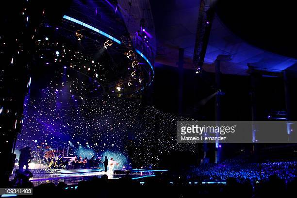 General view of the 52th International Song Festival on February 21, 2011 in Vina Del Mar, Chile.