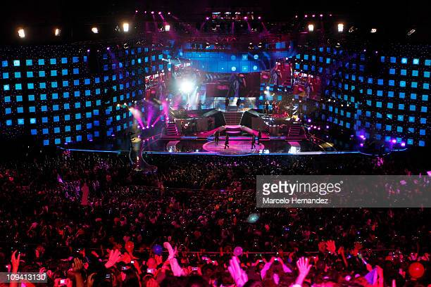 General view of the 52th International Song Festival on February 24, 2011 in Vina Del Mar, Chile.