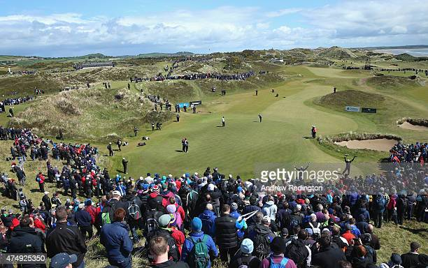 General View of the 5th green during the First Round of the Dubai Duty Free Irish Open Hosted by the Rory Foundation at Royal County Down Golf Club...