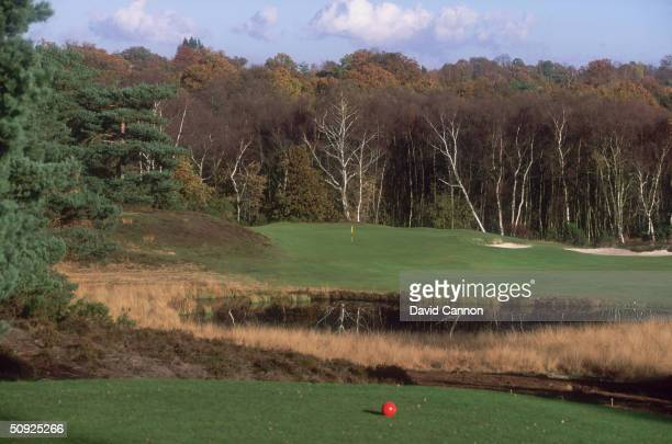 General view of the 5th Hole at The West Sussex Golf Club, Pulborough,England.