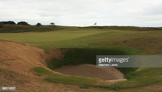 A general view of the 5th hole during the Glenmuir PGA Professional Championship at Dundonald Links on June 18 2009 in Dundonald Scotland