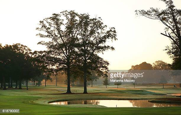 A general view of the 5th hole during the Second Round of the Sanderson Farms Championship at the Country Club of Jackson on October 28 2016 in...