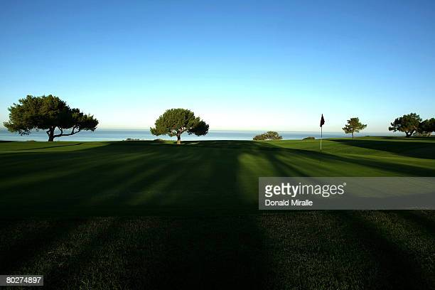 A general view of the 5th hole Torrey Pines South Golf Course site of the 2008 US Open on March 16 2008 in La Jolla California