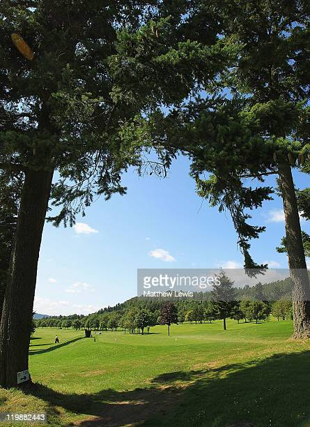 A general view of the 5th tee during the Virgin Atlantic PGA National ProAm Championship Regional Final at Crieff Golf Club on July 26 2011 in Crieff...