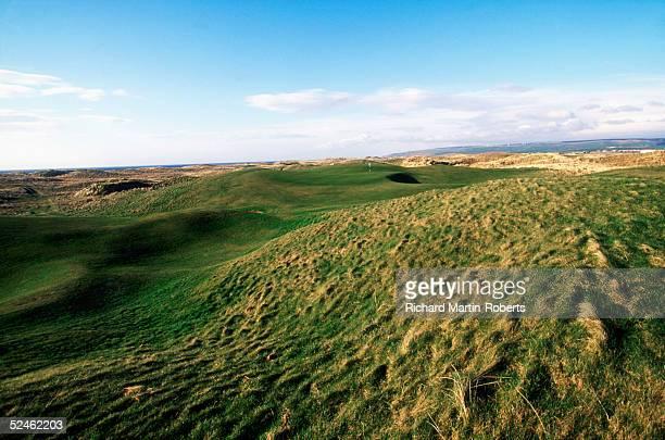 General View of the 6th hole at Machrihanish Golf Club 8 April 2004 in MachrihanishArgyllScotland