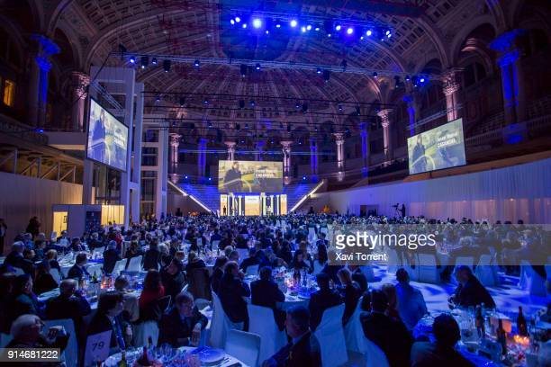 General view of the 70th Mundo Deportivo Gala on February 5 2018 in Barcelona Spain