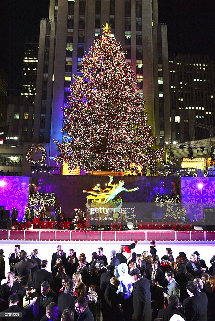 Christmas Tree Lighting In New York City