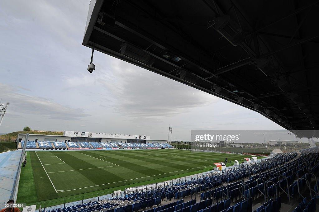 Inside Real Madrid's Valdebebas Ciudad del Real Madrid  Training Grounds : News Photo