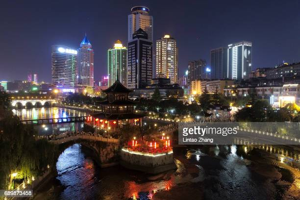 General view of the a history of more than 400 years, the Ming Dynasty building on May 29, 2017 in Guiyang, China.