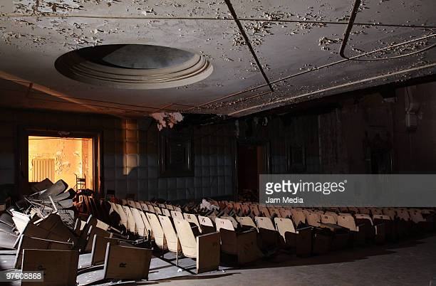 General view of the abandoned Opera Cinema on March 9 2010 in Mexico City Mexico