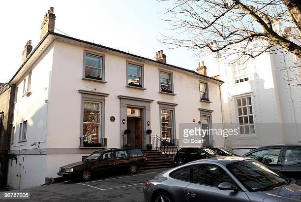 A general view of the Abbey Road recording studios which have been put up for sale by their owner EMI on February 17 2010 in London England The...