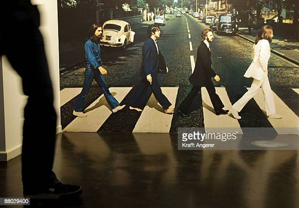 General view of the 'Abbey Road Studio' room is seen at the Beatlemania exhibition on May 28, 2009 in Hamburg, Germany. The exhibition, which opens...