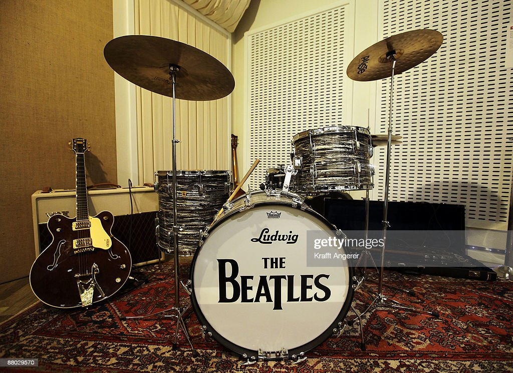 A general view of the 'Abbey Road Studio' room is seen at the Beatlemania exhibition on May 28, 2009 in Hamburg, Germany. The exhibition, which opens tomorrow, shows the development of the Beatles from their beginnings in Hamburg until they split up.