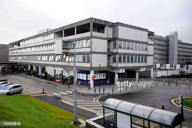 General view of the Aberdeen Royal Infirmary in Aberdeen where Britain's Prince Phillip is being treated for a bladder infection The 91yearold was...