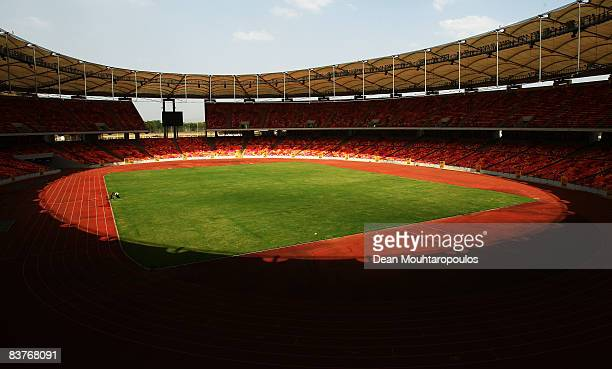 A general view of the Abuja National Stadium on November 20 2008 in Abuja Nigeria