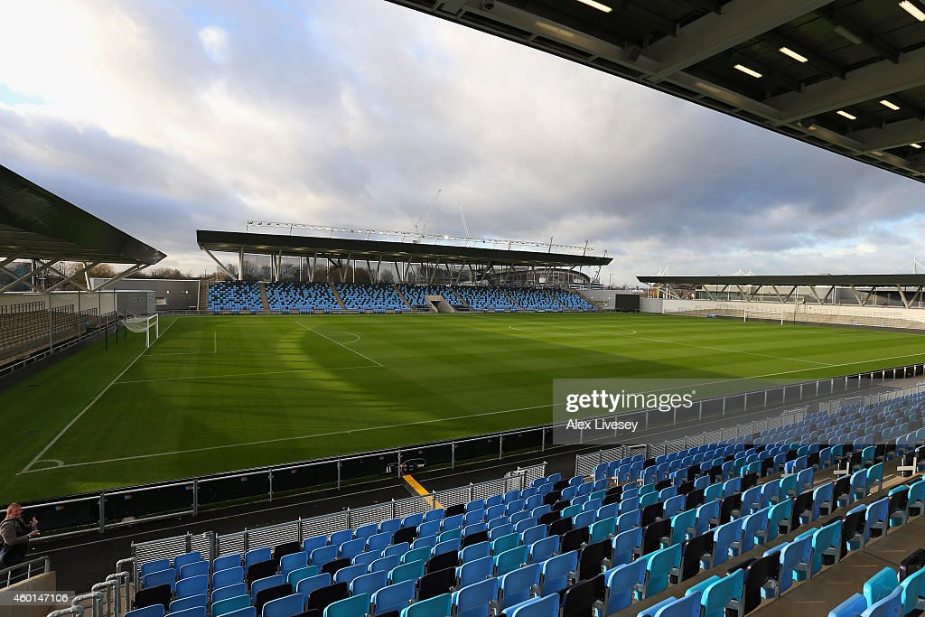 Official Launch of the Manchester City Football Academy : News Photo