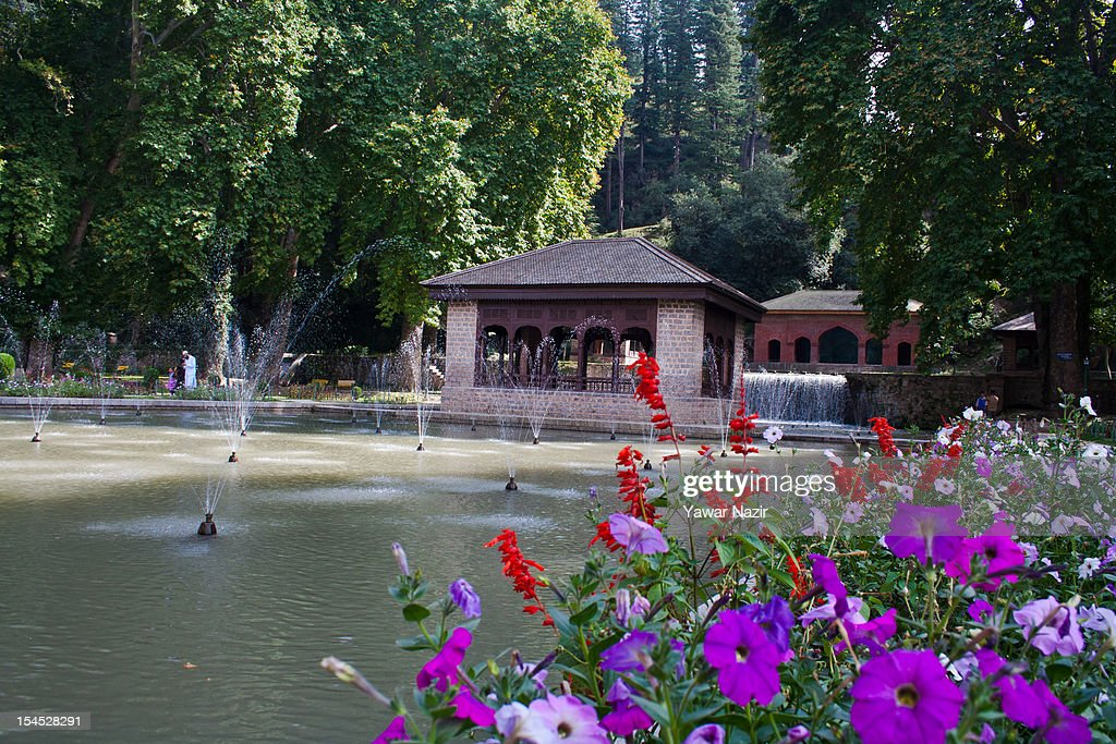 A general view of the Achabal Garden on October 21, 2012, in Achabal, south of Srinagar, the summer capital of Indian administered Kashmir, India. Kashmir has been a contested land between India and Pakistan since 1947, the year both the countries attained freedom from the British rule.