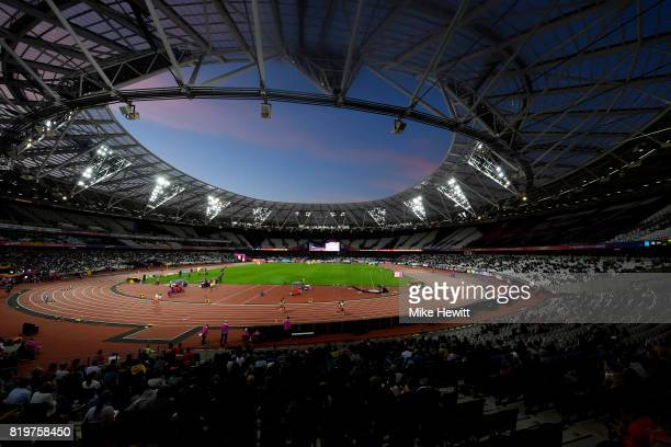 A general view of the action during day seven of the IPC World ParaAthletics Championships 2017 at London Stadium on July 20 2017 in London England
