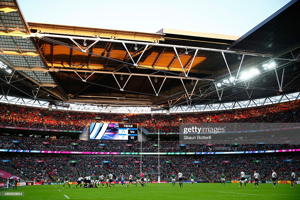 Ireland v Romania - Group D: Rugby World Cup 2015 : News Photo
