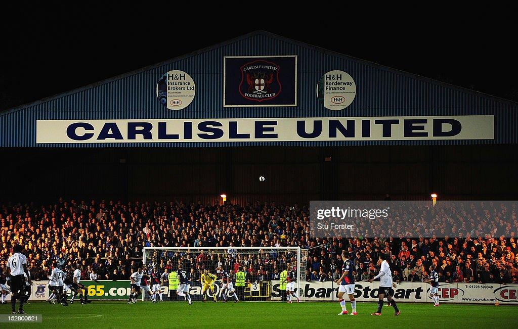 Carlisle United v Tottenham Hotspur - Capital One Cup Third Round : News Photo
